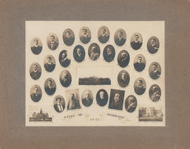 Composite Photograph of the Faculty of Medicine - Class of 1911