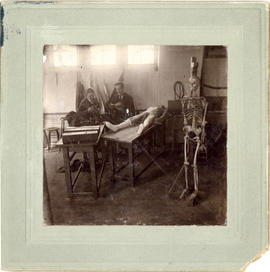 Photograph of Halifax Medical College - Dissecting Room