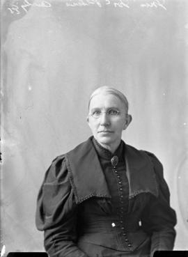 Photograph of Mrs. McPhee
