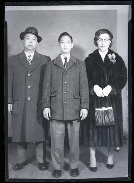 Photographs of Frank Wong and his family