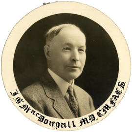 Portrait of J.G. MacDougall
