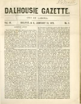 Dalhousie Gazette, Volume 4, Issue 5