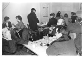 Photograph of a canteen in the Student Union Building