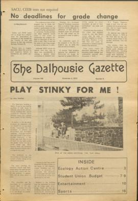 The Dalhousie Gazette, Volume 106, Issue 9