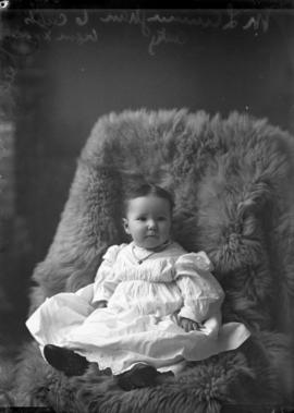 Photograph of M. L. Cunningham's baby