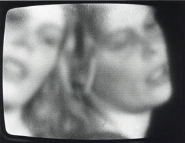 Photographic still from video by Nora Hutchinson