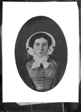 Photograph of Miss Wilson