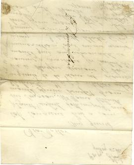 One letter to James Dinwiddie from A.P. Buchanan