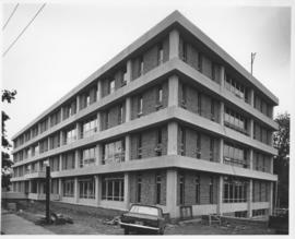 Photograph of the Student Union Building under construction