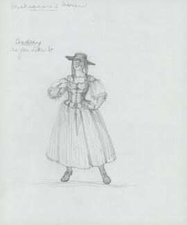 Costume design for Audrey