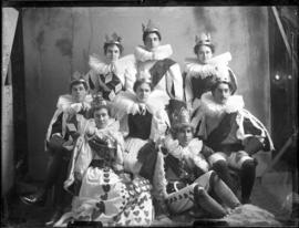 Photograph of a Carnival group