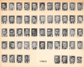Composite Photograph of the Faculty of Medicine - Class of 1963