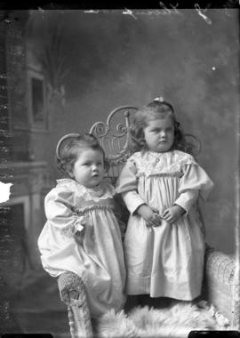 Photograph of  John Thompson's daughters