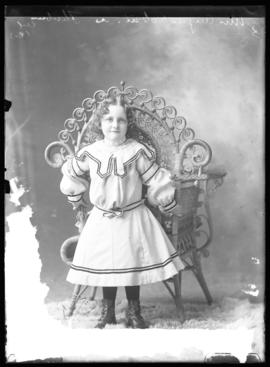 Photograph of the daughter of Mrs. Angus Robertson