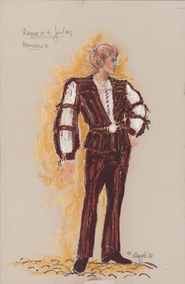 Costume design for Benvolio