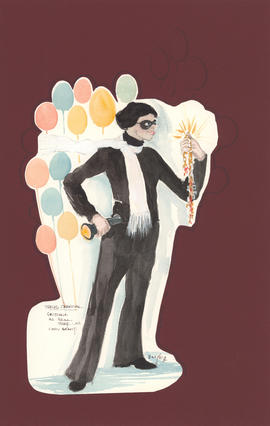 Costume design for Gustave as a real thief... as Cary Grant