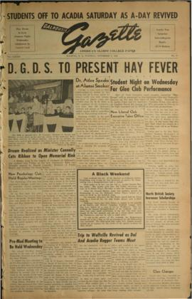 Dalhousie Gazette, Volume 83, Issue 11