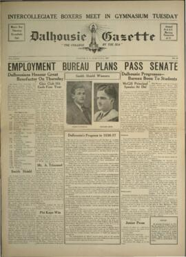 Dalhousie Gazette, Volume 69, Issue 20