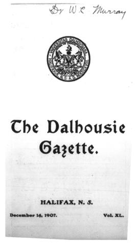 The Dalhousie Gazette, Volume 40, Issue 3