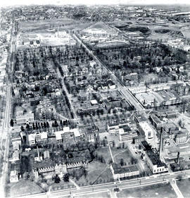 Aerial photograph of the Carleton campus