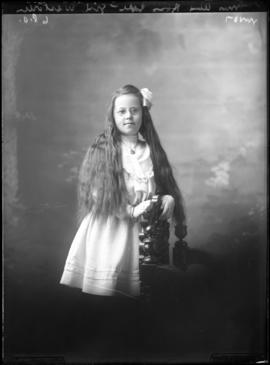 Photograph of the child of Mrs. Alex Ross