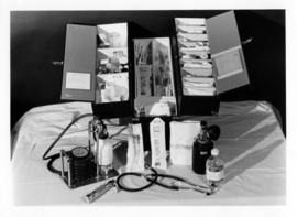 Photograph of Victoria General Hospital - Neonatology Unit. equipment kit