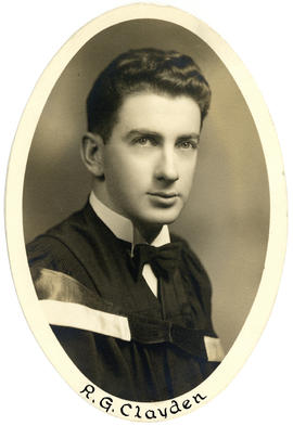 Portrait of R.G. Clayden : Class of 1949
