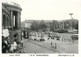 Photograph of International Council of Nurses Kongress June 1965
