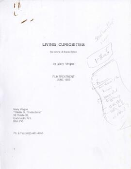 Living Curiosities, the Story of Anna Swan - Film Treatment