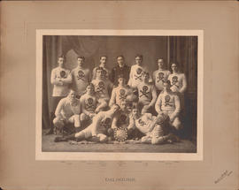 Photograph of Dalhousie Football Team - Faculty of Medicine