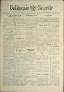 Dalhousie Gazette, Volume 58, Issue 4