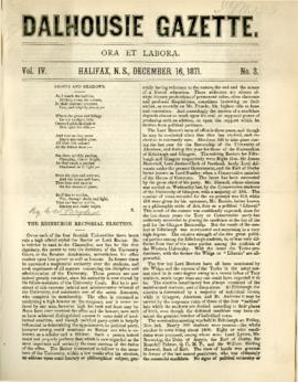 Dalhousie Gazette, Volume 4, Issue 3