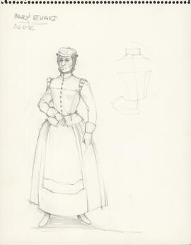 Costume design for Anne