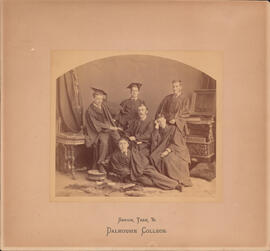 Photograph of Dalhousie College senior class of 1881