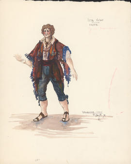 Costume design for Feste