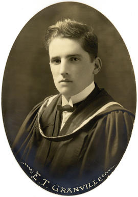 Portrait of Edward Thomas Granville : Class of 1922