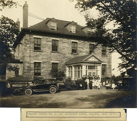 Photograph of Health Centre No. 1 in Old Admiralty House, Halifax, Nova Scotia
