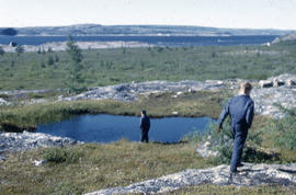 Photograph of the landscape near Fort Chimo, Quebec