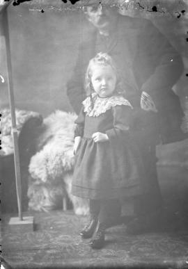 Photograph of Mrs. Fraser's daughter