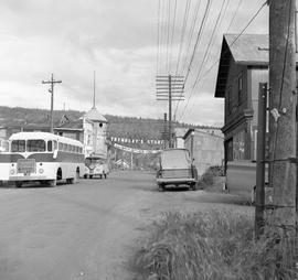 Photograph of a street in Dawson City, Yukon