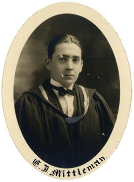 Portrait of Edward John Mittleman : Class of 1926