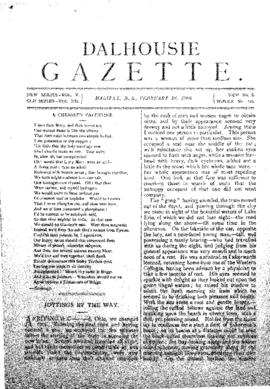 Dalhousie Gazette, Volume 12, Issue 8