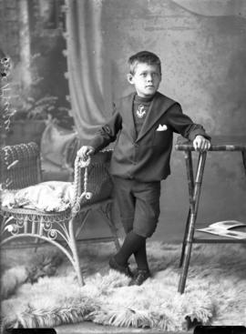 Photograph of Mrs. McKenzie's son
