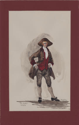 Costume design for David