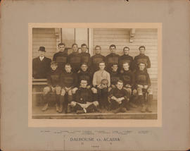 Photograph of Dalhousie vs. Acadia - Football Team