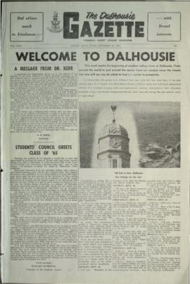 The Dalhousie Gazette, Volume 94, Issue 1