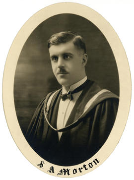 Portrait of Silvanus Archibald Morton : Class of 1926
