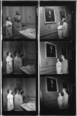 Photographs of Mrs. James Sisk and Vice-President Donald McNeill