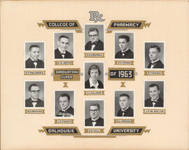 Collage of College of Pharmacy Graduation Class of 1963