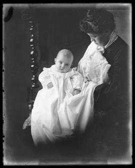 Photograph of Mrs. G.R. Waldren & baby
